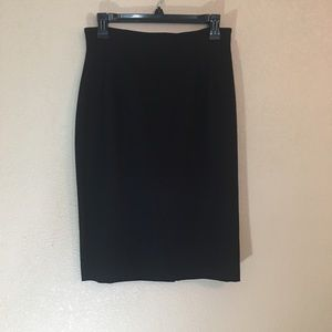 Emanuel Ungaro black pencil skirt work 10/44
